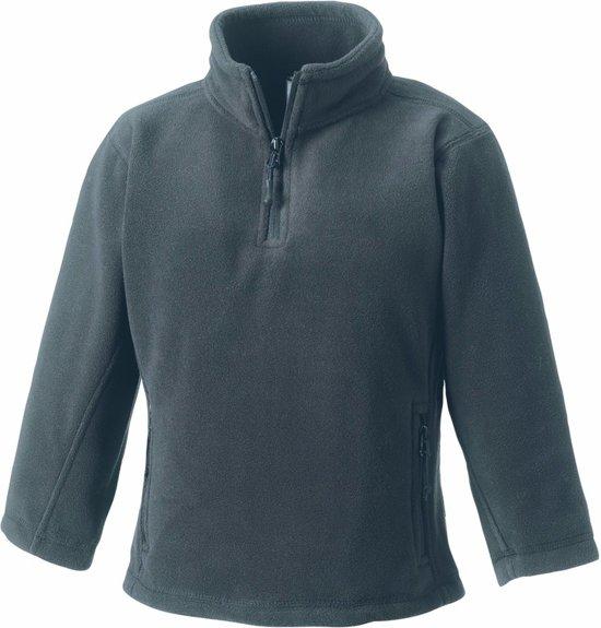 Grijze fleece trui voor jongens 104 (3-4 jaar)