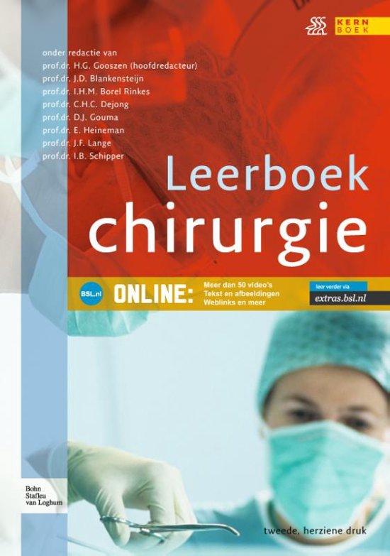 Leerboek chirurgie - Bohn Stafleu van Loghum