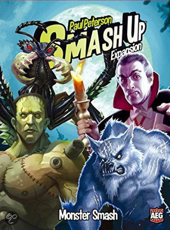 Afbeelding van het spel Smash Up: Monster Smash Card Game Expansion