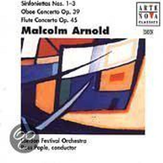 Arnold: Sinfoniettas 1, 2, 3/Cto