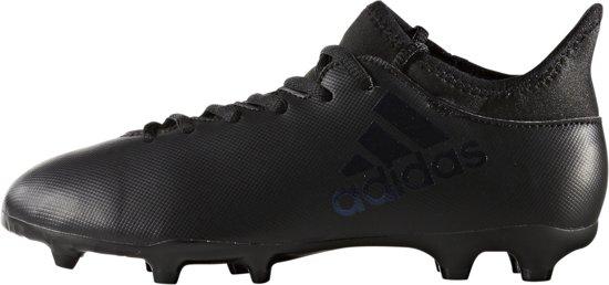 ba692f57740 bol.com | adidas - X 17.3 FG Blackout J - Voetbalschoen - Kinderen ...