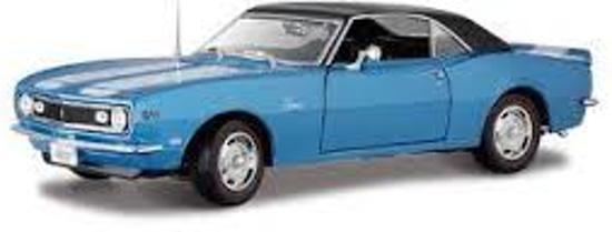 Chevrolet Camaro Z/28 1968 Blauw 1-18 Maisto