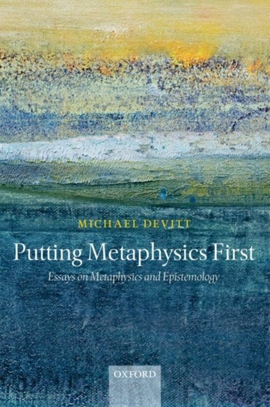 metaphysics ontology essay