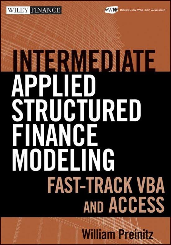 bol com | Intermediate Structured Finance Modeling, William