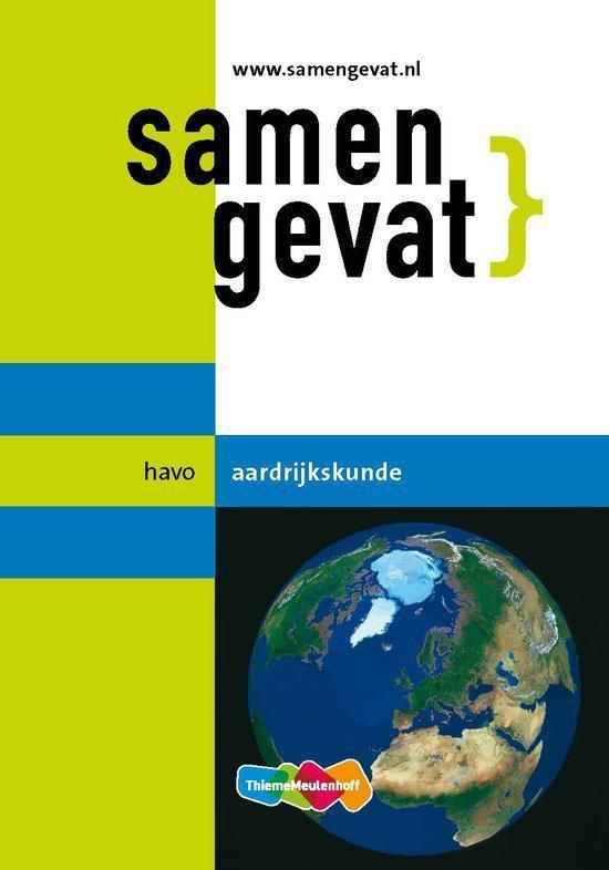 Boek cover Samengevat - havo Aardrijkskunde van H.J.C. Kasbergen (Paperback)