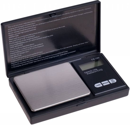 Digitale Weegschaal - Max. 100g / 0,01g