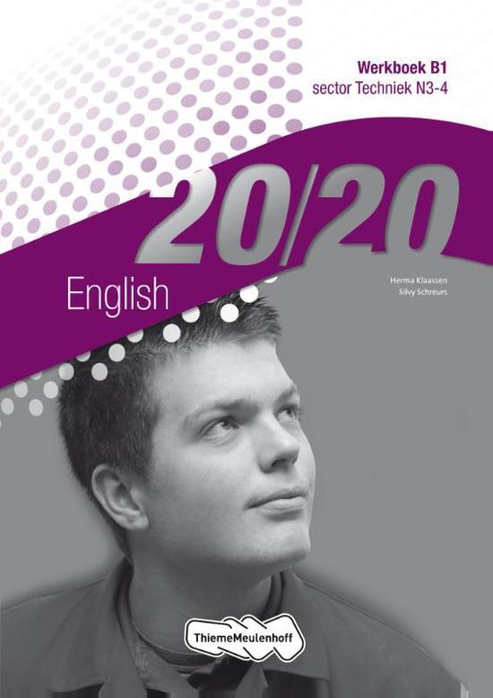 20 20 English sector techniek N3 4 deel Werkboek B1
