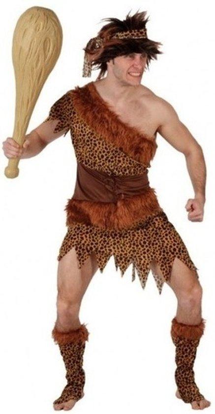 Holbewoner verkleed kostuum/set heren - carnavalskleding - voordelig geprijsd XL