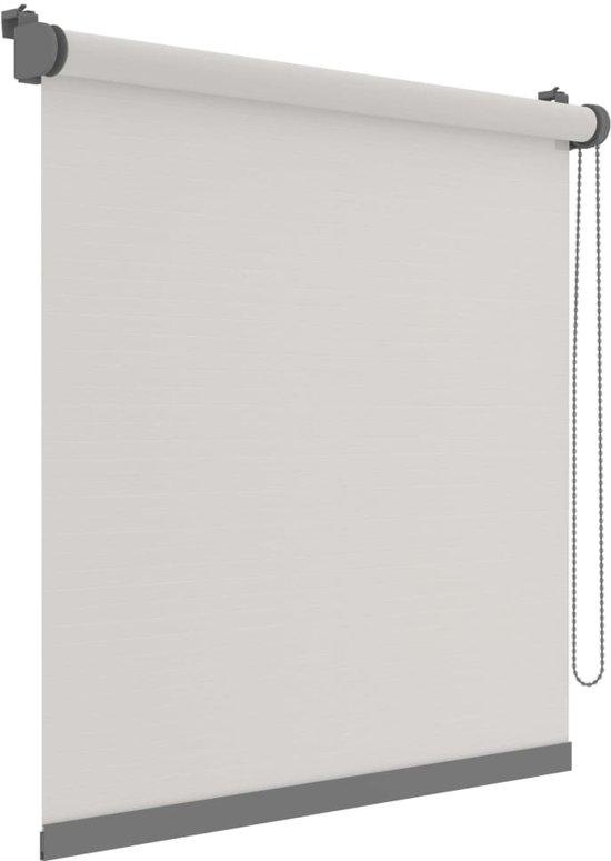 Decosol Mini-rolgordijn Deluxe doorschijnend 67x160 cm effen wit