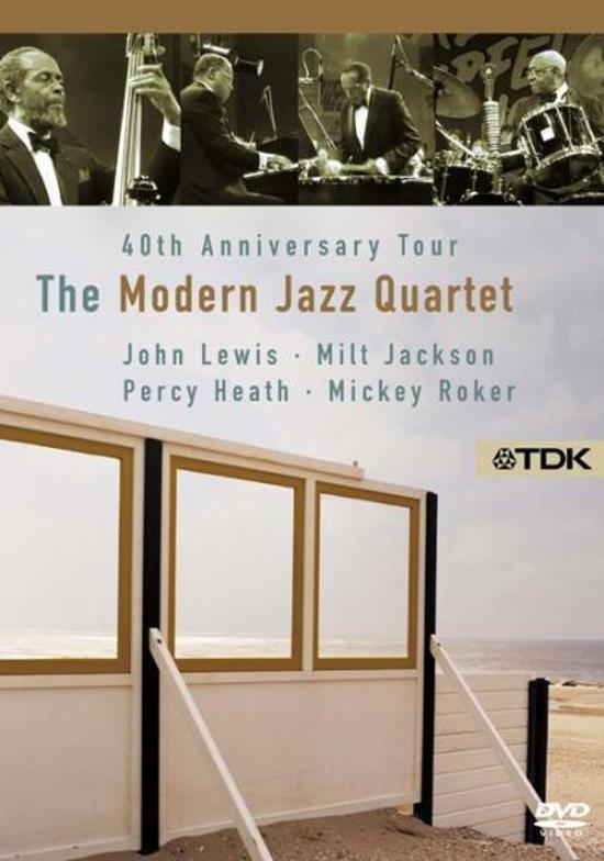 Cover van de film '40 Years Of Modern Jazz  Quartet/Ntsc/All Regions'