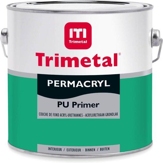 Permacryl PU Primer - Wit 001: 1 liter