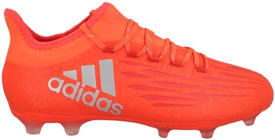 promo code 70517 7e18f adidas X 16.2 FG Voetbalschoenen Heren Voetbalschoenen - Maat 44 2/3 -  Unisex - rood/zilver