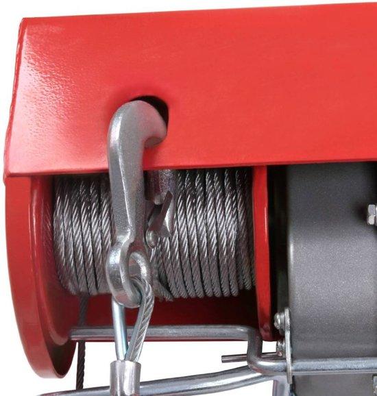 Benson elektrische kabel takel transportsysteem 125/250kg