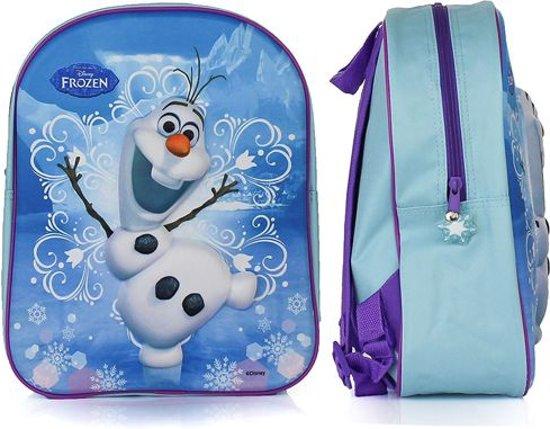 7743c9d2bc1 bol.com | Disney Frozen Olaf Rugzak 3D - Kinderen - Blauw
