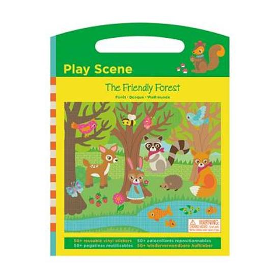 The Friendly Forest Play Scene