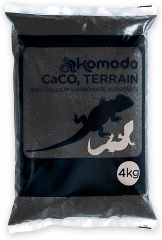 Komodo Caco Zand - Zwart - 4 kg