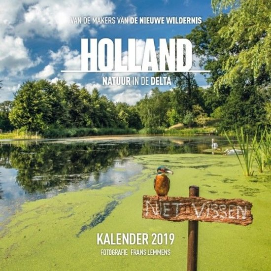 Plenty Gifts Kalender 2019 Holland Natuur In De Delta 30 Cm