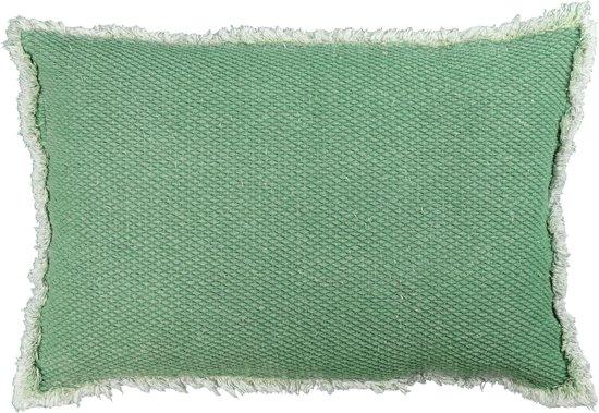 Unique Living Kussens : Bol groen kussen kussen unique living aiko basil green
