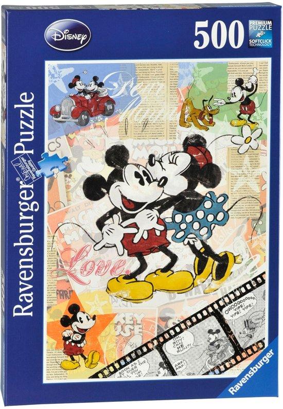 Ravensburger Puzzel - Retro Mickey