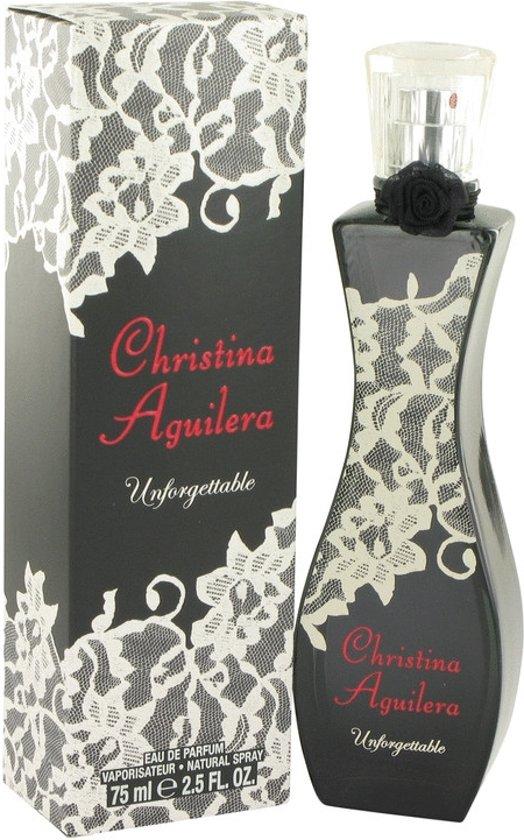 | Christina Aguilera Unforgettable 75 ml Eau de