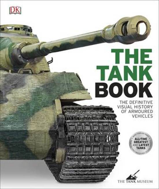 Boek cover The Tank Book van Dk (Hardcover)