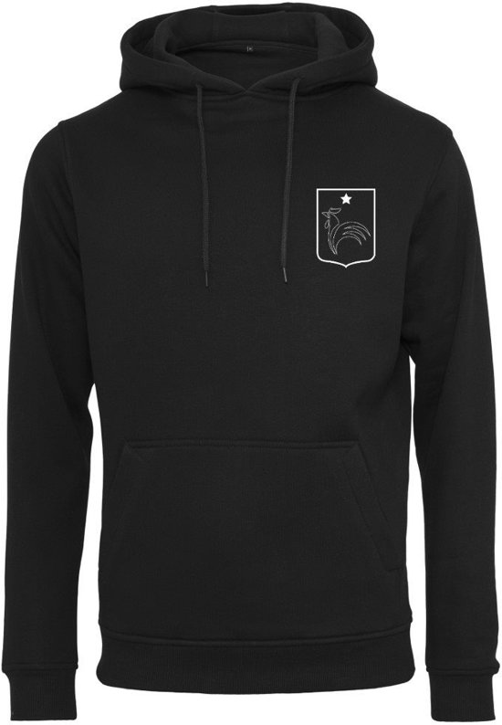 FC Eleven - Frankrijk Hoodie – Zwart  – XXL