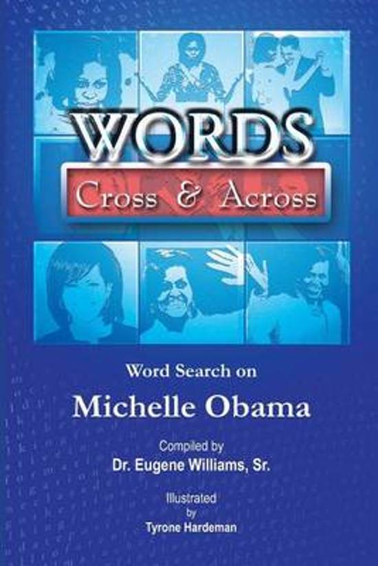 Boekomslag voor Words Cross & Across