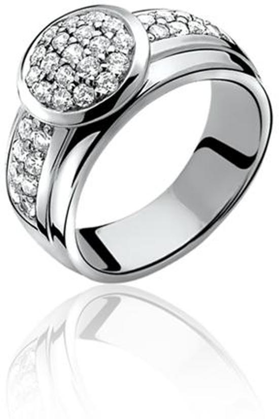 Zinzi - Zilveren Ring - Maat 62  ZIR668-62
