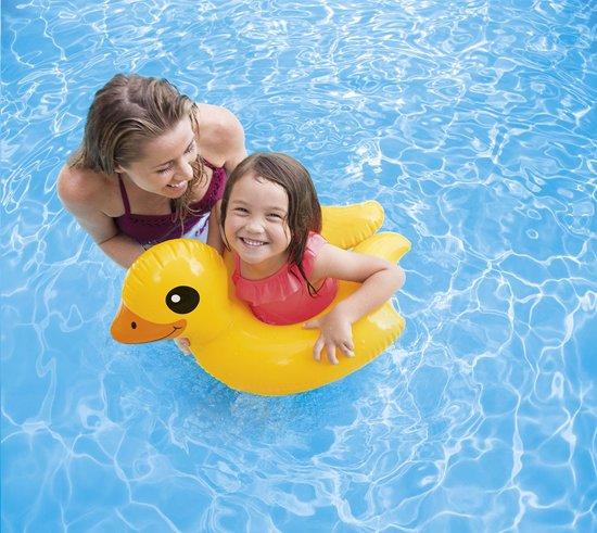 Opblaasband - Zwemring Junior - Intex - Eend