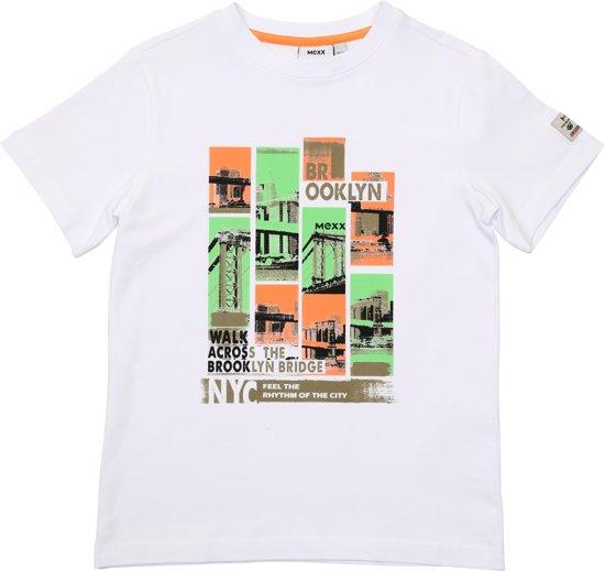 4246bb16238258 T Shirts Wit Morgen In Huis | Globos' Giftfinder