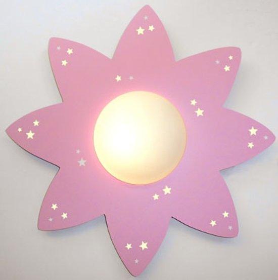 Funnylight-Plafonniere-plafondlamp-Sky-line zon roze met glow in the ...