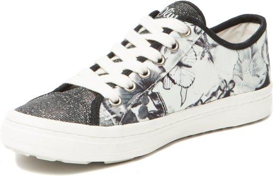 Zwart 26 Dames S Sneakers 23641 5 Maat Oliver 38 8BtqqzAwv