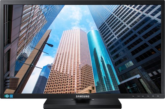 Samsung S24E650PL 23.6'' Full HD LED Zwart computer monitor