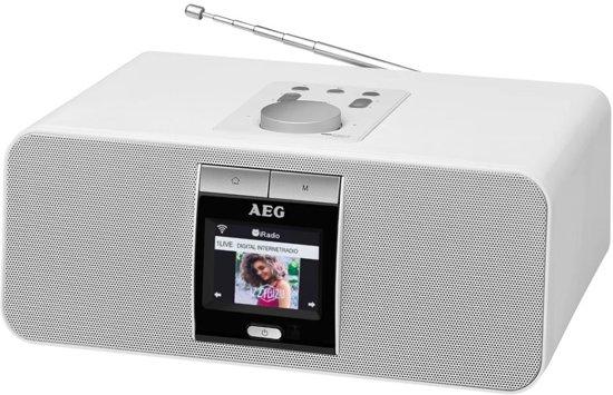 AEG Internet Radio IR 4468 BT 25,5x18,5x11 cm wit