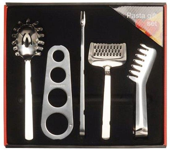 Pasta - Gift Set - 5 stuks - RVS
