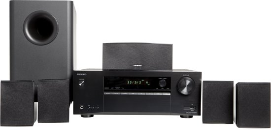 Onkyo HT-S3800 Home Cinema Set - Zwart