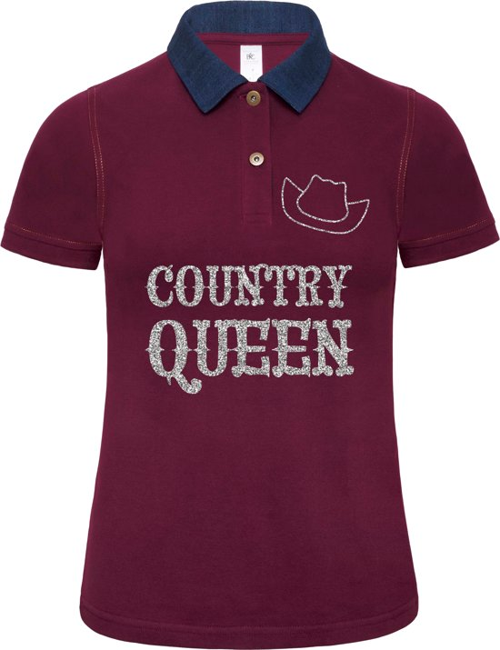 "Toppers tip: Polo ""Country Queen"" (S)"