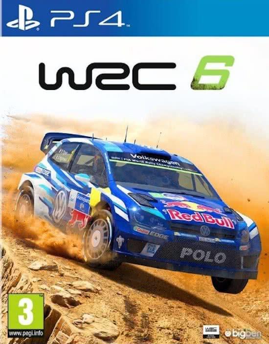 WRC 6 PlayStation 4
