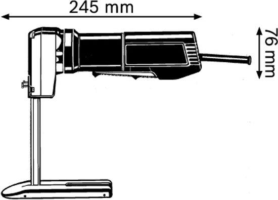 Bosch Professional GSG 300 Schuimstofzaag - Zaagbladen niet inbegrepen