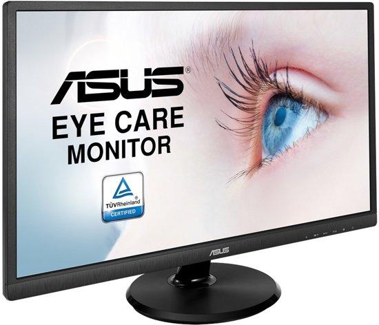 ASUS VA249HE computer monitor 60,5 cm (23.8'') Full HD LED Flat Zwart