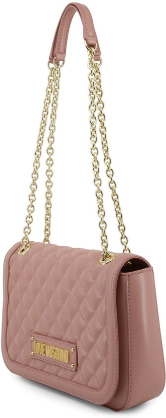 Love Moschino Quilted SchoudertasPink New Dames WIeEbD29HY