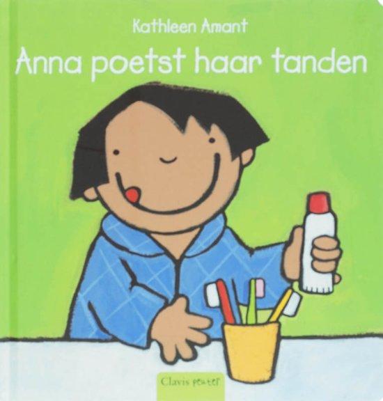 Peuterlijn - Anna poetst haar tanden