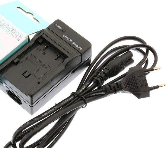 Oplader voor accu Panasonic DU07 21 Pentax VBD070 140 210
