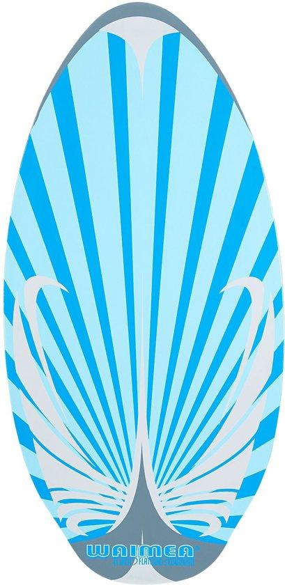 Waimea Skimboard Flatland Hout - 104 cm - Blauw/Grijs