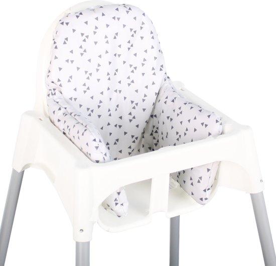 Fabulous bol.com | Ukje.nl Kussen voor kinderstoel Ikea Antilop - Grijs #BF78