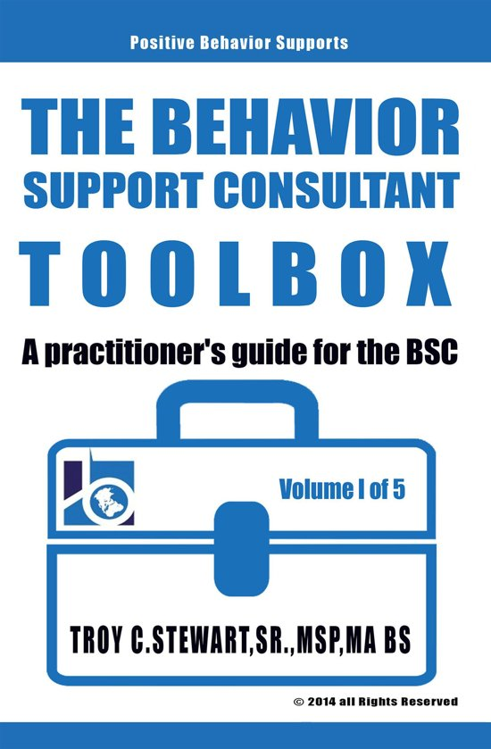 The Behavior Support Consultant Toolbox