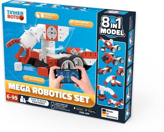 Tinkerbots Robotics Mega Set