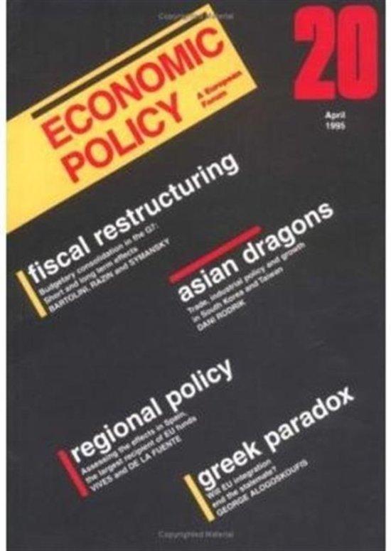 Economic Policy 20