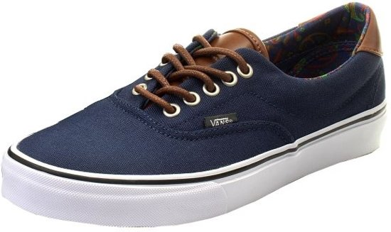 Vans Sneakers Era 59 Unisex Dress Blauw Maat 37