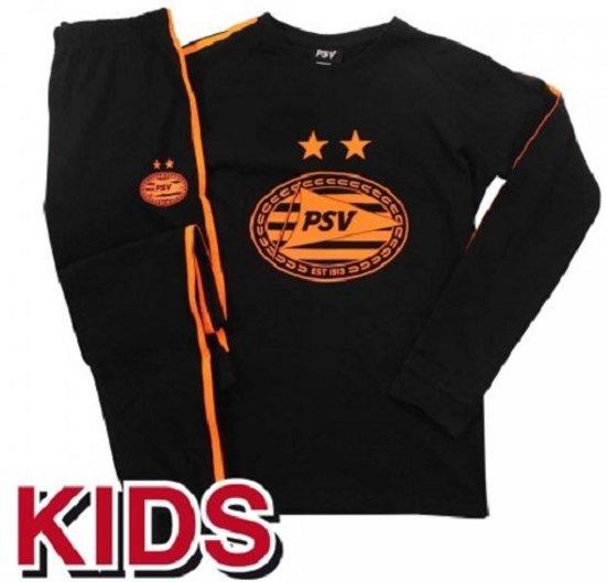PSV Pyjama Oranje Zwart 2019-2020  maat 110-116